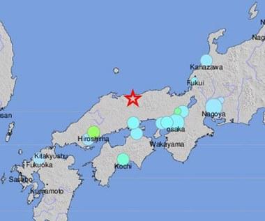 Silne trzęsienie ziemi w Japonii. Nie ma informacji o poszkodowanych