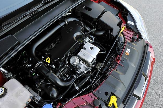 Silnik 1.0 Ecoboost Forda ma 3 cylindry i 125 KM. Stosowany jest m.in. w focusie /