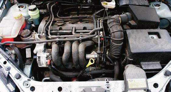 Silnik 1.6 potrafi spalać duże ilości oleju, ale nie jest to regułą. /Motor