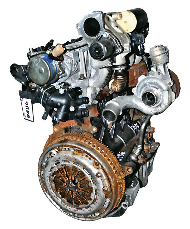 silnik 1.9 dCi /Motor