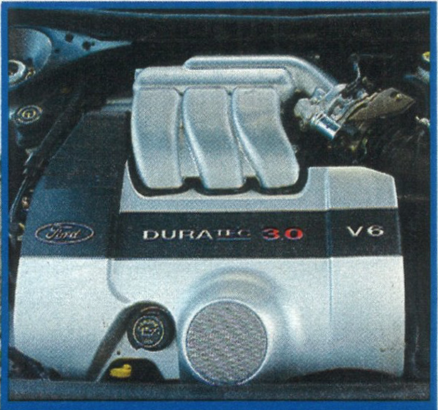 Silnik 3.0 V6 to jednostka napędowa ze sportowego modelu ST220 o lekko obniżonej mocy (z 226 KM do 204 KM). /Motor