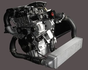 silnik 3-cylindrowy turbo BMW /Motor