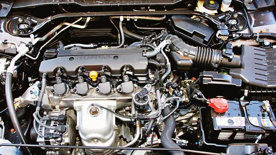 Silnik benzynowy: dosyć niezawodny, ale czuły na źle wyregulowaną instalację LPG – na montażu nie oszczędzajmy. /Motor