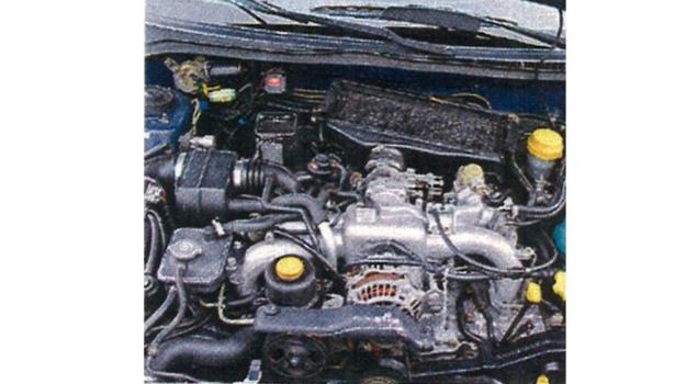 silnik impreza gt /Motor