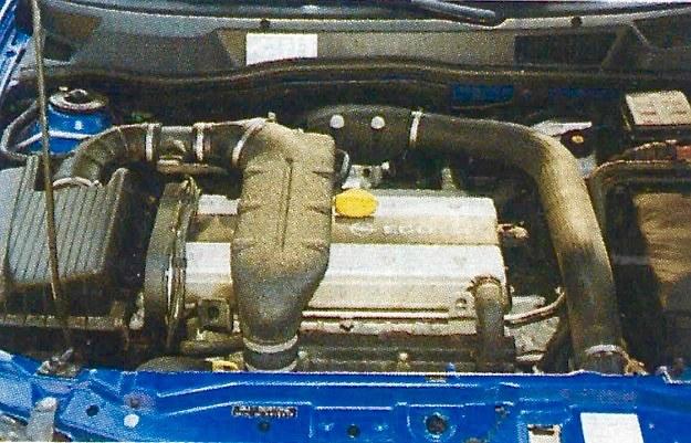 Silnik jest świetny, powinien trafić do innego samochodu. /Motor