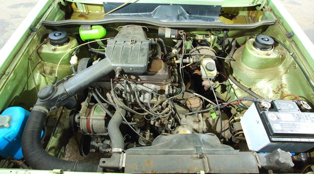 Silnik poprzecznie i przedni napęd: nowoczesność roku 1974. /Motor