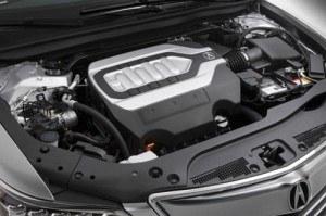 Silnik RLX-a to pierwsza V-szóstka Hondy z bezpośrednim wtryskiem paliwa. 90 proc. maksymalnego momentu obrotowego generuje w zakresie 2000-6600 obr./min. /Acura