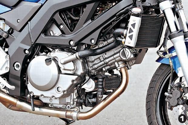 Silnik V Suzuki / Kliknij /Motocykl