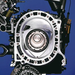 Silnik w obiegu Wankla /Motor