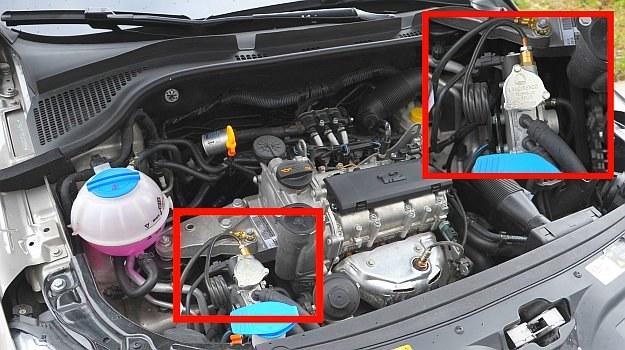 silnik z lpg /Motor