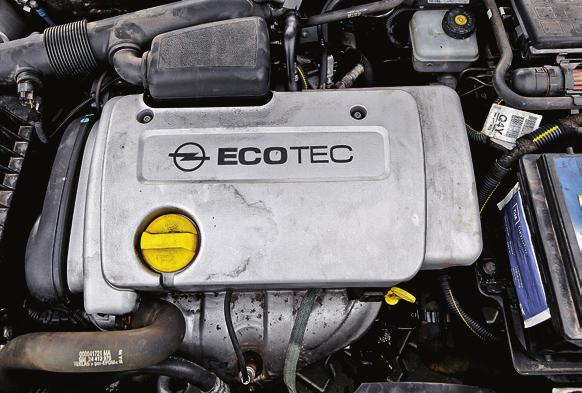 Silniki Opla palą olej, ale bez remontu przejeżdżają po 300 tys. km i więcej. /Motor