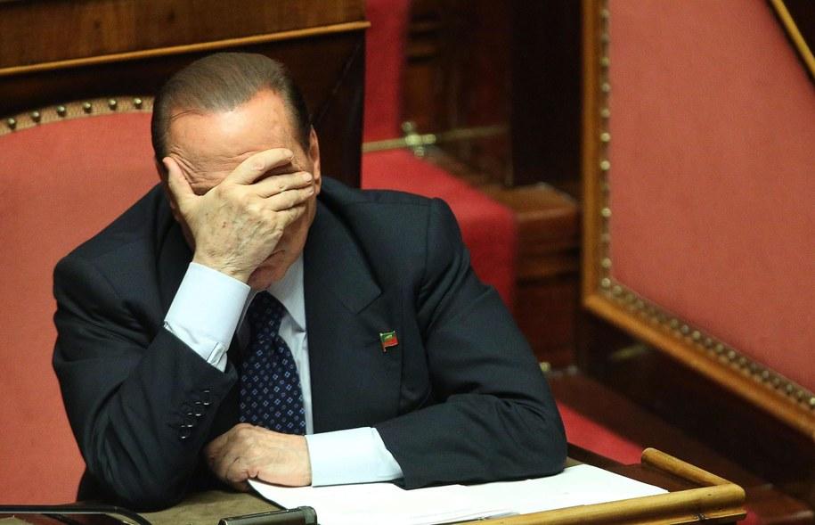 Silvio Berlusconi /ALESSANDRO DI MEO    /PAP/EPA