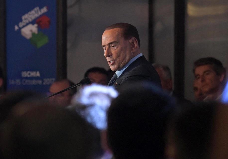 Silvio Berlusconi /CIRO FUSCO /PAP/EPA