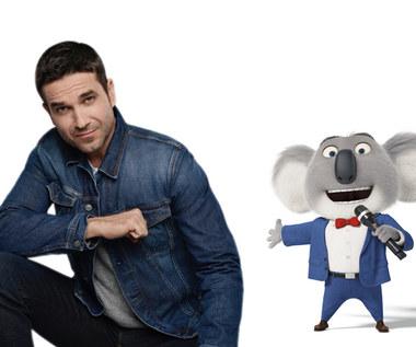 """""""Sing"""": Marcin Dorociński jako koala Buster Moon"""