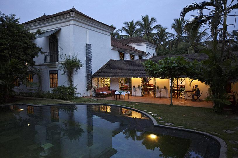 Siolim House - 350-letnia hindusko-portugalska posiadłość, która została drobiazgowo odrestaurowana i przerobiona na hotel /fot. Kuni Takahashi /The New York Times Syndicate