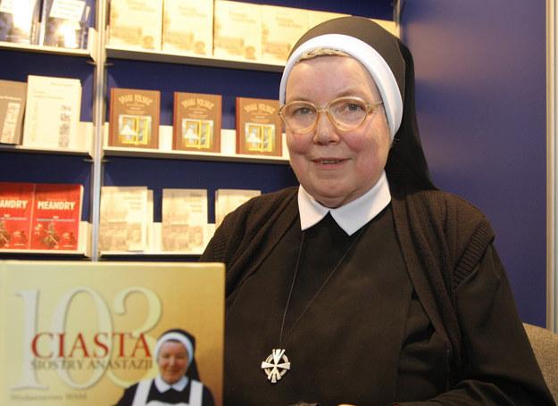 Siostra Anastazja na Targach Książki /Damian Klamka /East News