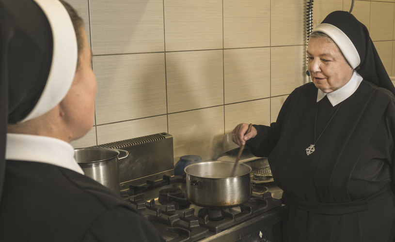 Siostra Anastazja spędzi święta z siostrami ze swojego domu zakonnego w Krakowie /Wydawnictwo WAM