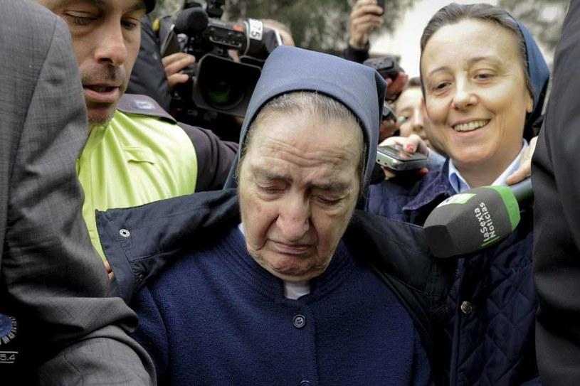 Siostra Maria Gomez Valbuena z zakonu Sióstr Miłosierdzia św. Wincentego a Paulo odmawiała składania zeznań /AFP
