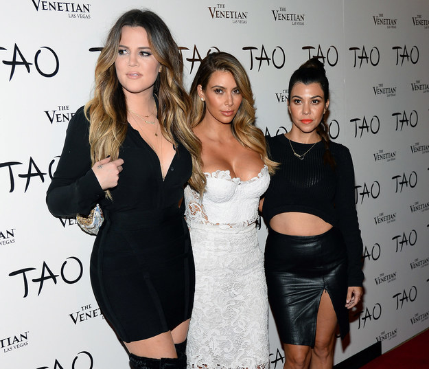 Siostry Kardashian: Khloe, Kim i Kourtney /Getty Images