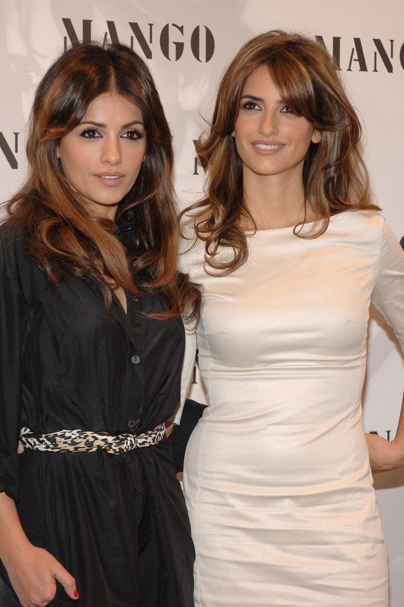 Siostry Penelope i Monica Cruz od kilku lat współpracują w świecie mody /Getty Images/Flash Press Media