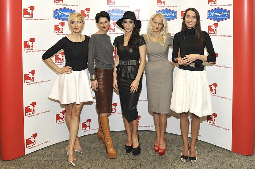 Siostry Steczkowskie: (od lewej) Magda, Cecylia, Justyna, Krystyna, Agata /Niemiec /AKPA