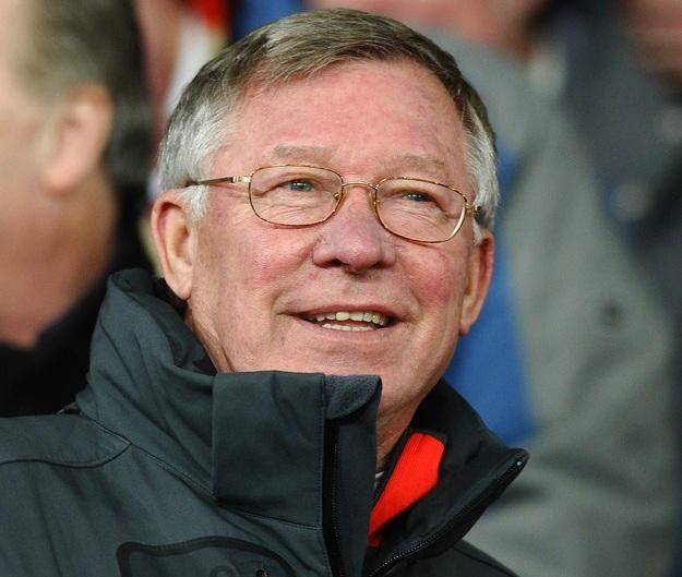 Sir Alex Ferguson /AFP