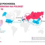 Skąd pochodzą cyberataki na Polskę?