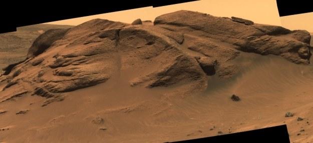 Skały w okolicy krateru Gusev /NASA