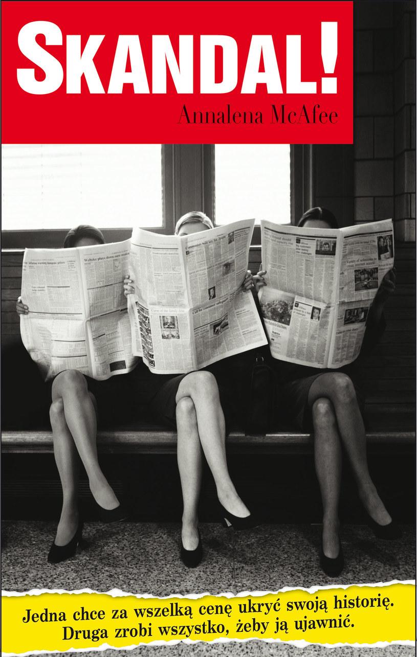 Skandal!, Annalena McAfee /Wydawnictwo Albatros