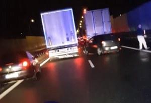 Skandal na drodze S8. Zawiedli kierowcy zawodowi!