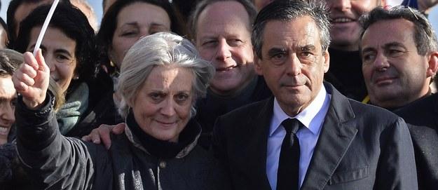 Skandal w rodzinie kandydata na prezydenta Francji. Żona Fillona usłyszała zarzuty