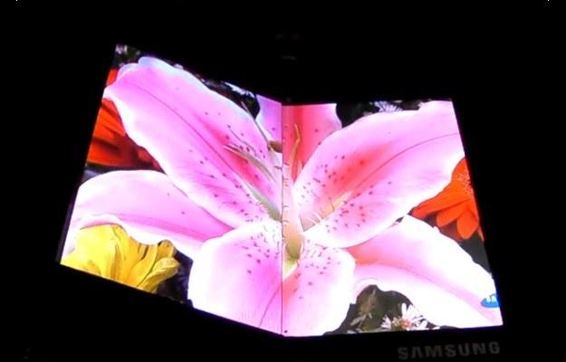 Składany AMOLED Samsunga Fot. komórkomania /materiały prasowe