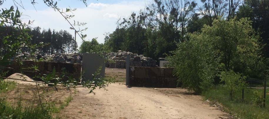 Składowisko odpadów w Sarbii /Mateusz Chłystun /RMF FM