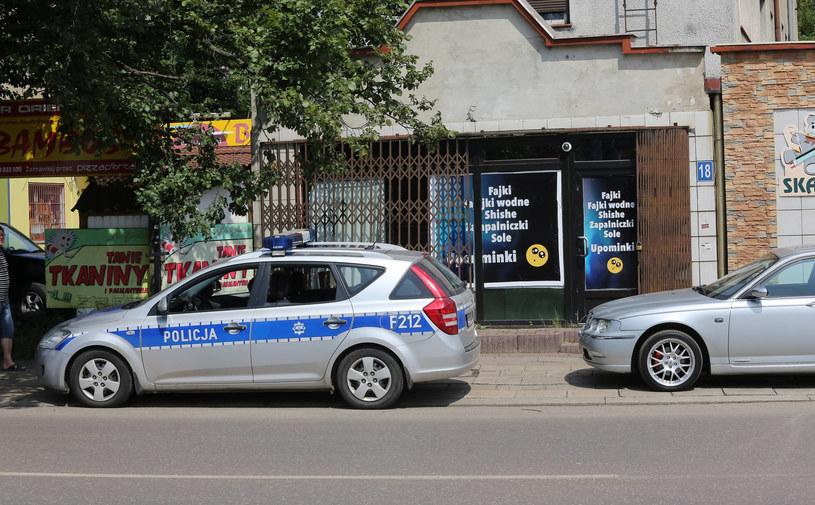 Sklep z dopalaczami w Łodzi /LUKASZ KASPRZAK/EXPRESS ILUSTROWANY/POLSKA PRESS /East News