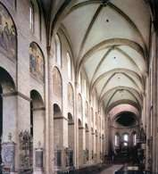 Sklepienie krzyżowo-żebrowe, katedra św. Marcina i Szczepana w Moguncji /Encyklopedia Internautica