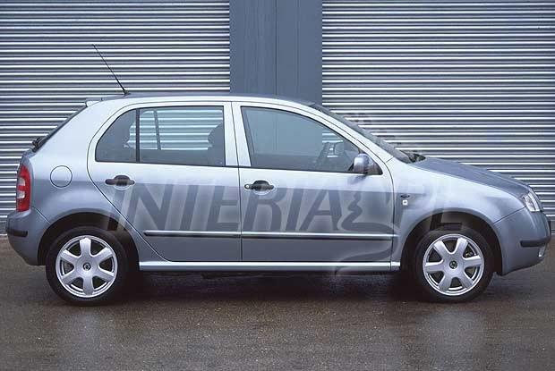 Skoda Fabia hatchback (kliknij) /INTERIA.PL