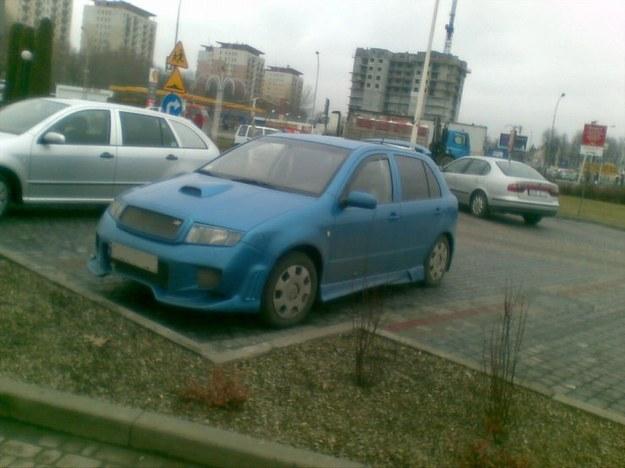Skoda fabia prawie jak WRC.
