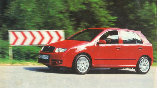 Skoda Fabia RS /Motor