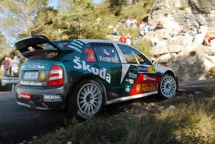 Skoda fabia WRC /