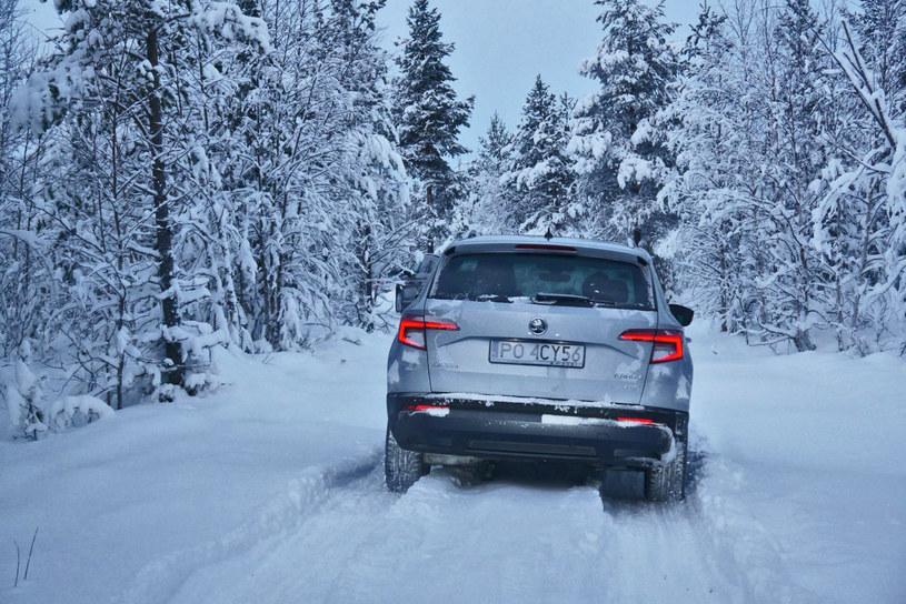 Skoda Karoq w Laponii /INTERIA.PL