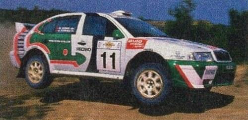 Skoda w WRC /Motor