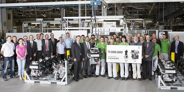 Skoda wyprodukowała już 11 mln silników /