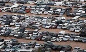 Skonfiskowane samochody