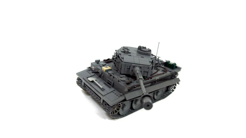 Skonstruowany przez Pawła czołg Tygrys /materiały prasowe