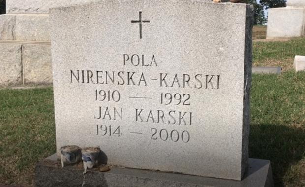 Skromny grób wielkiego Polaka na waszyngtońskim cmentarzu