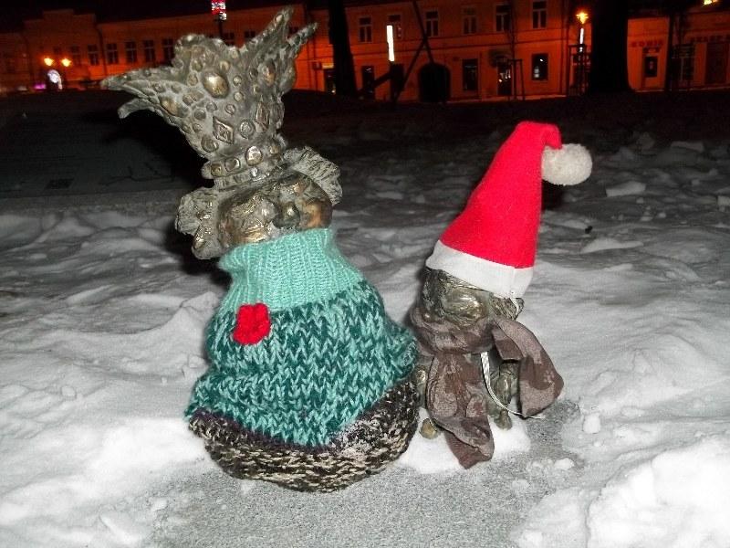 Skrzaty w zimowych przebraniach /Piotr Bułakowski /RMF FM