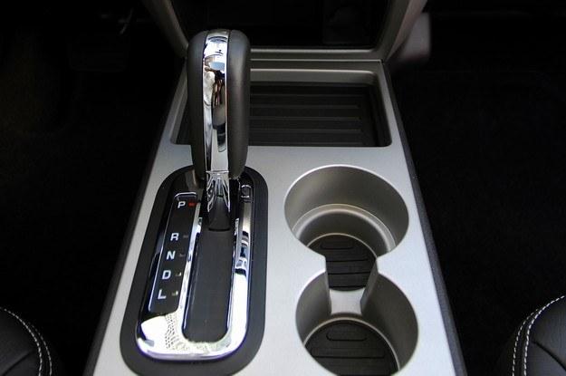 Skrzynia automatyczna jest podatna na przegrzanie /