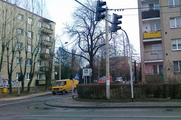 Skrzyżowanie ulicy Żywieckiej i PCK oraz Marii Skłodowskiej-Curie /INTERIA.PL