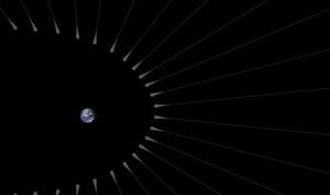 Skupiska ciemnej materii niedaleko Ziemi?