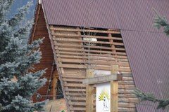 Skutki halnego pod Tatrami